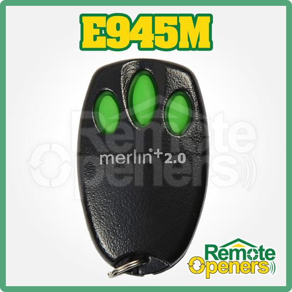 C945 Merlin Garage Door Remote Control Handset Bearclaw