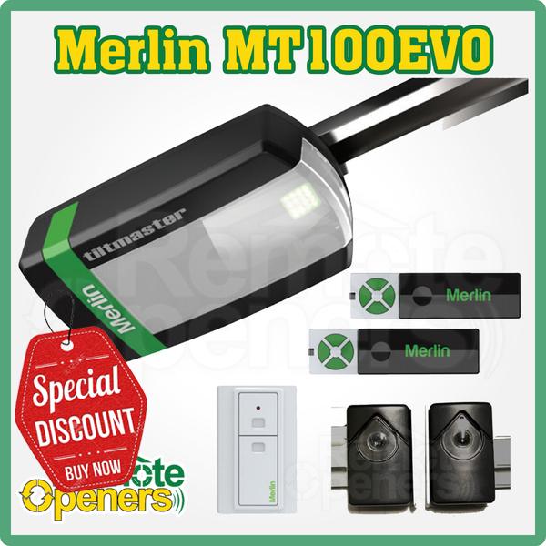 Merlin Mt100evo Tiltmaster Sectional Panel Lift Tilt