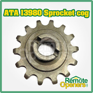 ATA 13980 14 Tooth Metal Sprocket (Round shaft) Cog Suits GDO-2 Automatic-Technology-Australia