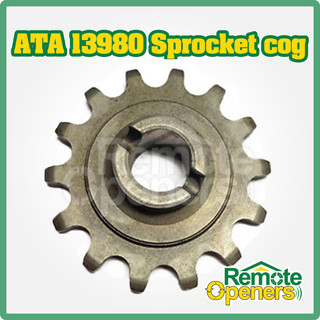 ATA 13980 14 Tooth Replacement Metal Sprocket (Round shaft) Cog Suits GDO-2