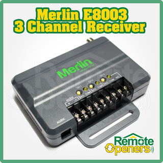 Merlin E8003 Add On Garage Door Motor Receiver Suits Security +2.0 Remotes
