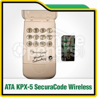 KPX-5 ATA Wireless Keypad Garage Doors Gates Remote