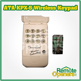 KPX-5 ATA Wireless Keypad Garage Doors Gates Remote Genuine