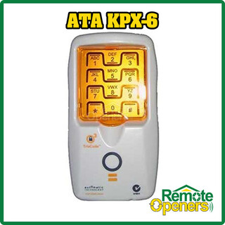 KPX-6 ATA Wireless Keypad Garage Doors Gates Remote