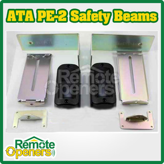 ATA PE-2 Photo Electric Safety Beam 3 Wire for Garage Door & Gates 62852 61903