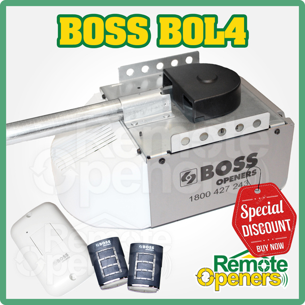 Boss BOL4 Sectional Motor Guardian 21230L Garage Door Opener Suit Steel-Line  sc 1 st  Remote Openers u003e Garage Door Openers and Remotes Australia : guardian door opener - pezcame.com