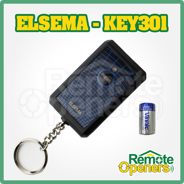 Key 301 Elsema Garage Door Remote Fmt301 Ata Txa 1 Txa1
