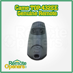 CAME Two Button Garage Door Remote 433.92 Mhz