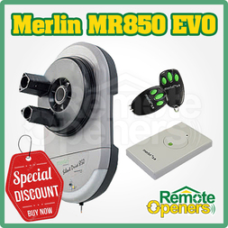 Merlin MR850EVO Silent Drive Garage Roller Door Motor