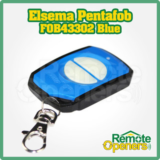 Elsema Pentafob FOB43302  2 Button Wireless Key Fob Remote Control