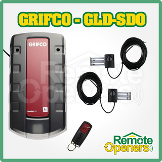 GRIFCO LS-Drive Sectional Door Opener With Aluminium Rail for 2.4m High Door,GLD-SDO