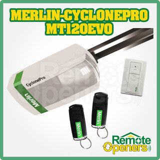 Merlin CyclonePro MT120EVO  Garage Door Opener,Replacement Powerhead
